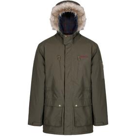 Regatta Salinger Jacket Men Dark Khaki